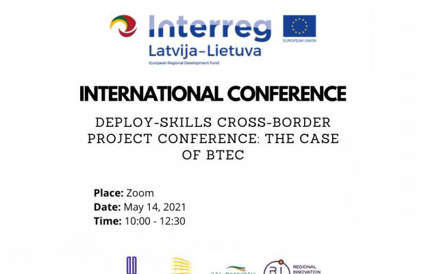 Latvijas un Lietuvas pārrobežu projekta noslēguma konference tiešsaistē par starptautiskas profesionālās izglītības programmas ieviešanu Ventspilī un Paņevežā