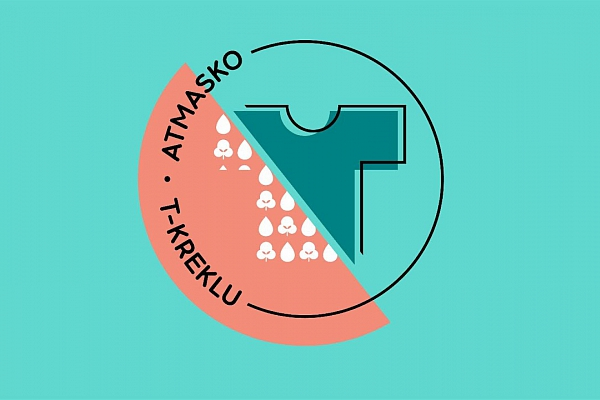 """Ventspils Tehnikuma jaunieši piedalās tiešsaistes nodarbību ciklā par zaļo domāšanu """"Atmasko T-kreklu"""""""
