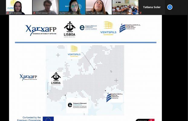 Ventspils Tehnikuma audzēkņi piedalās tiešsaistes mobilitātē