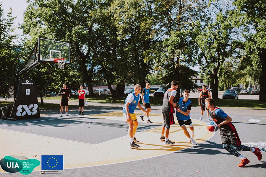 Ventspils vidusskolu grupā zēniem 2021 notiks 3×3 basketbola turnīrs