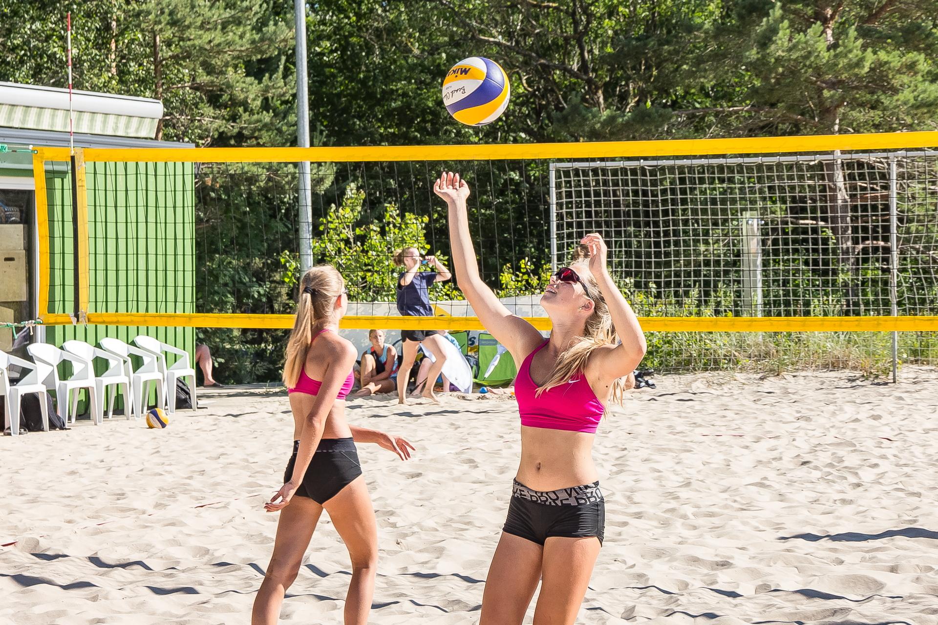 Ventspils vidusskolu grupā jauniešiem un jaunietēm notiks pludmales volejbola turnīrs