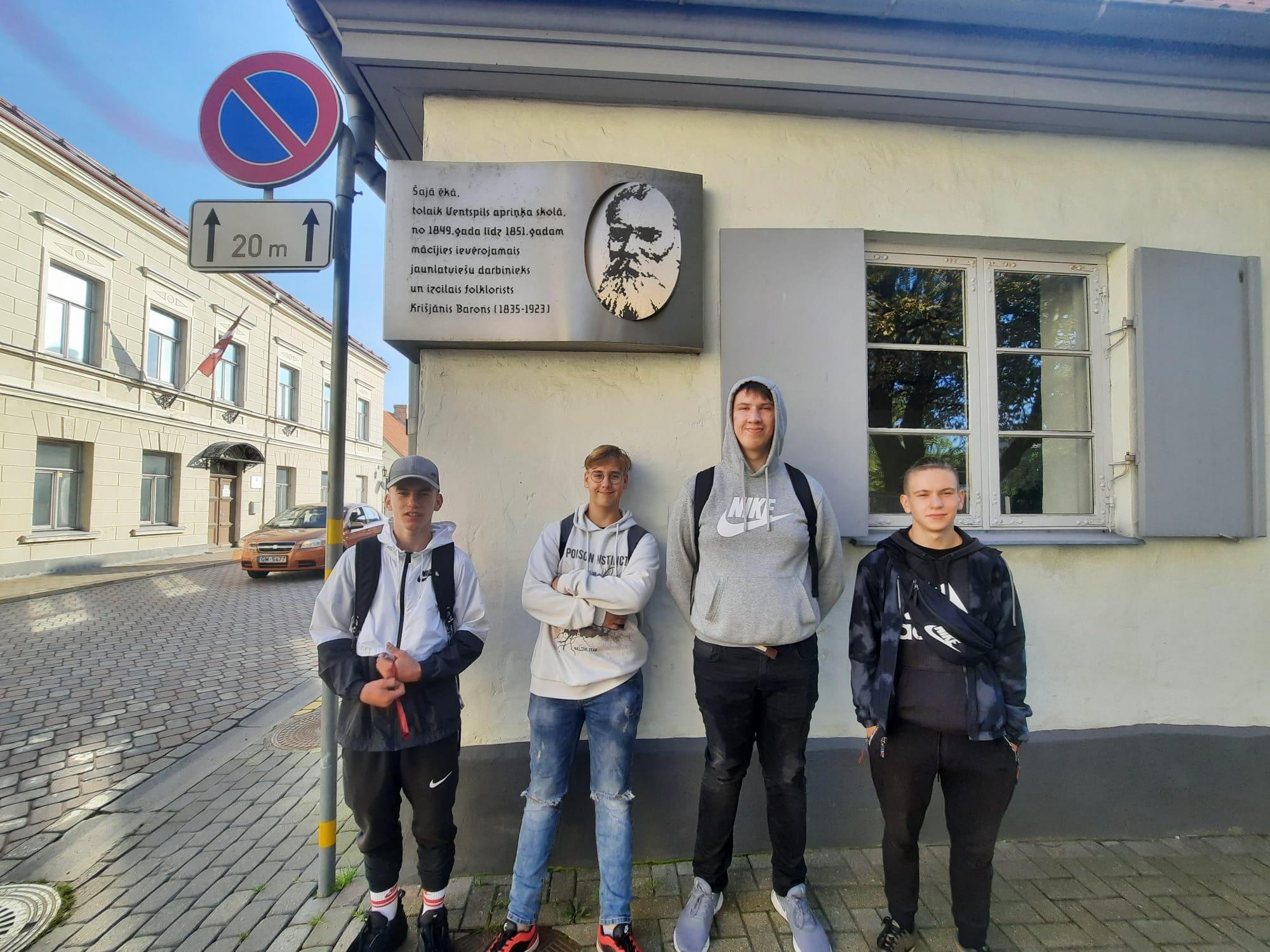"""Ventspils Tehnikuma audzēkņi aktīvi piedalās """"Latvijas skolas soma"""" aktivitātēs"""